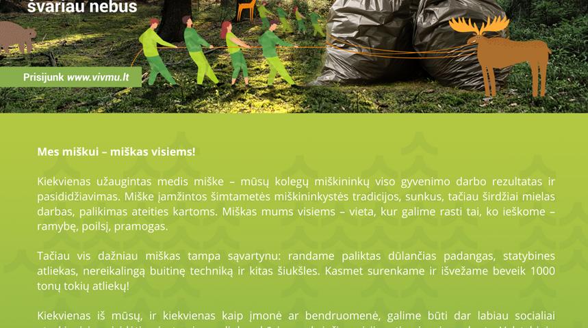 Akcija_darom_jaunimas_miškai_Druskininkai